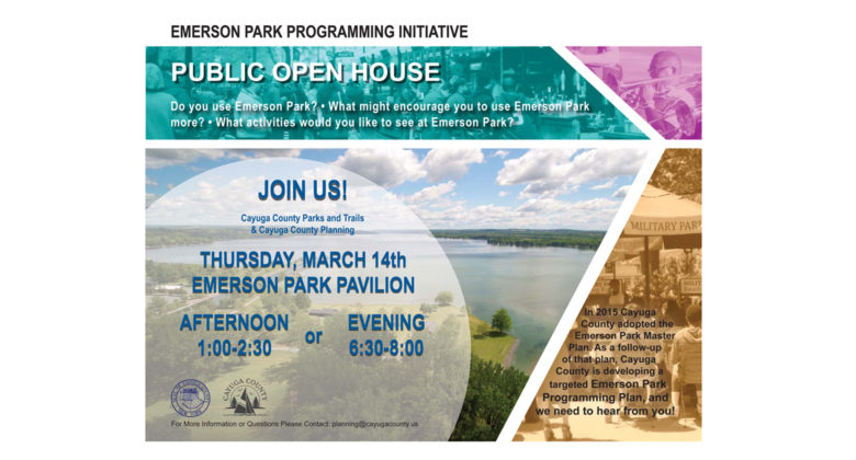 Emerson Park Open House Meeting scheduled for March 14