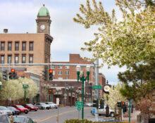Downtown Auburn, NY, May 2021